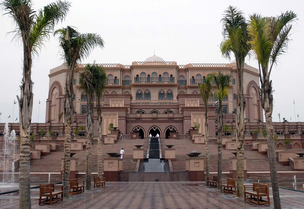 Una de las fachadas del Hotel Emirates Palace, en Abu Dabi / GTRES