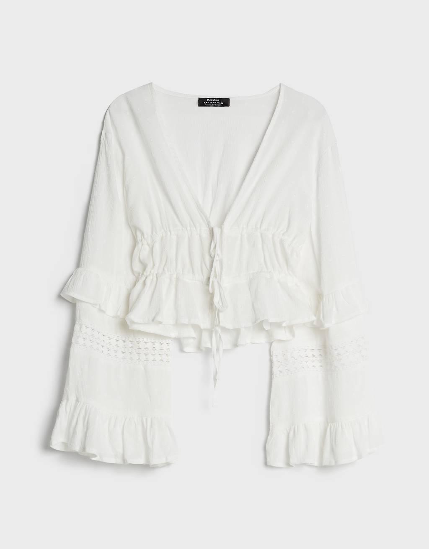 Consigue un look como el del icono de la moda Brigitte Bardot con estas prendas de Bershka