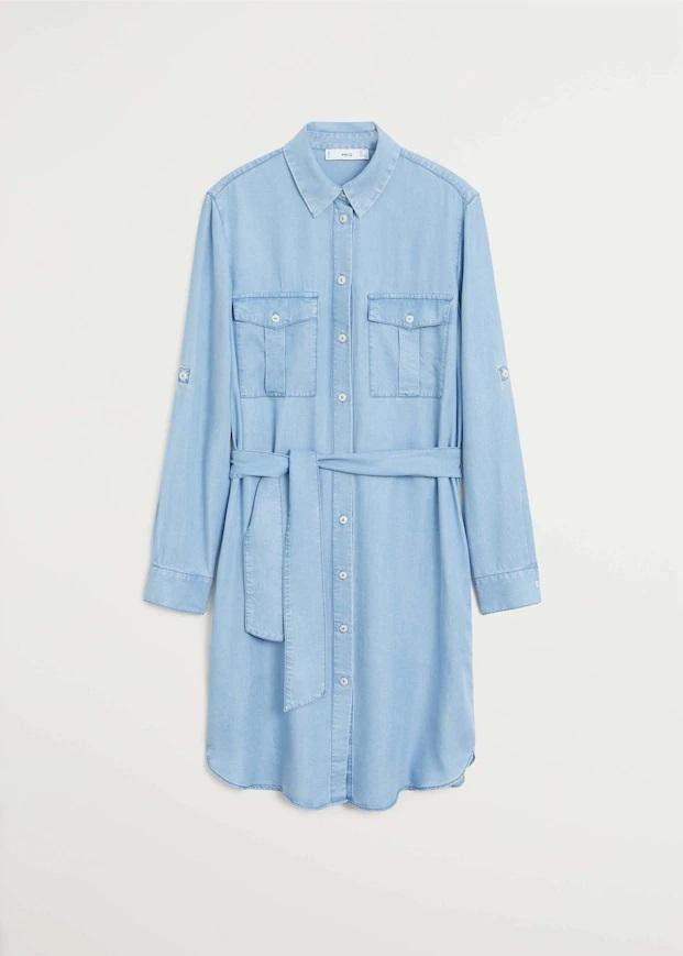 Los otros vestidos camiseros de Mango que Leonor podría haber elegido