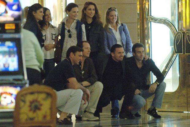 Enrique Ponce, Paloma Cuevas, Genoveva Casanova, Pedja Mijatovic, Konstantin de Bulgaria, María García de la Rasilla
