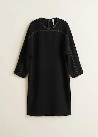 Los vestidos de punto imprescindibles para el otoño en Mango Outlet por menos de 8 euros
