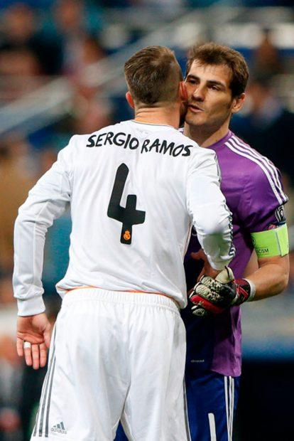 Sergio Ramos, Iker Casillas