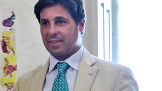Francisco Rivera durante la presentación del cartel de la Goyesca de este año / GTRES
