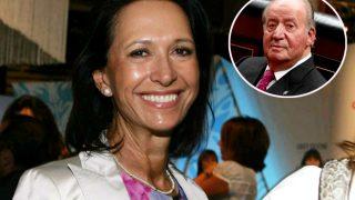 Marta Gayá y el rey Juan Carlos, en fotomontaje Look