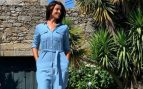 Este es el vestido camisero de Blanca Romero de Mango Outlet perfecto para volver a la rutina