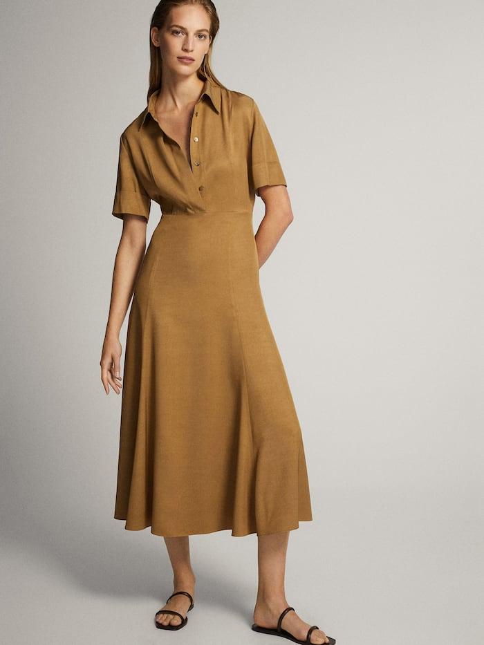Estos son los vestidos de las rebajas de Massimo Dutti que podrás lucir todo el año