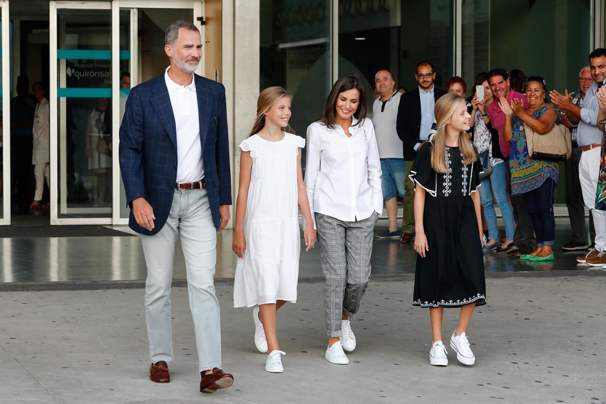 familia del rey