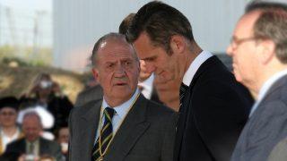 El rey Juan Carlos e Iñaki Urdangarin en una imagen de archivo / Gtres