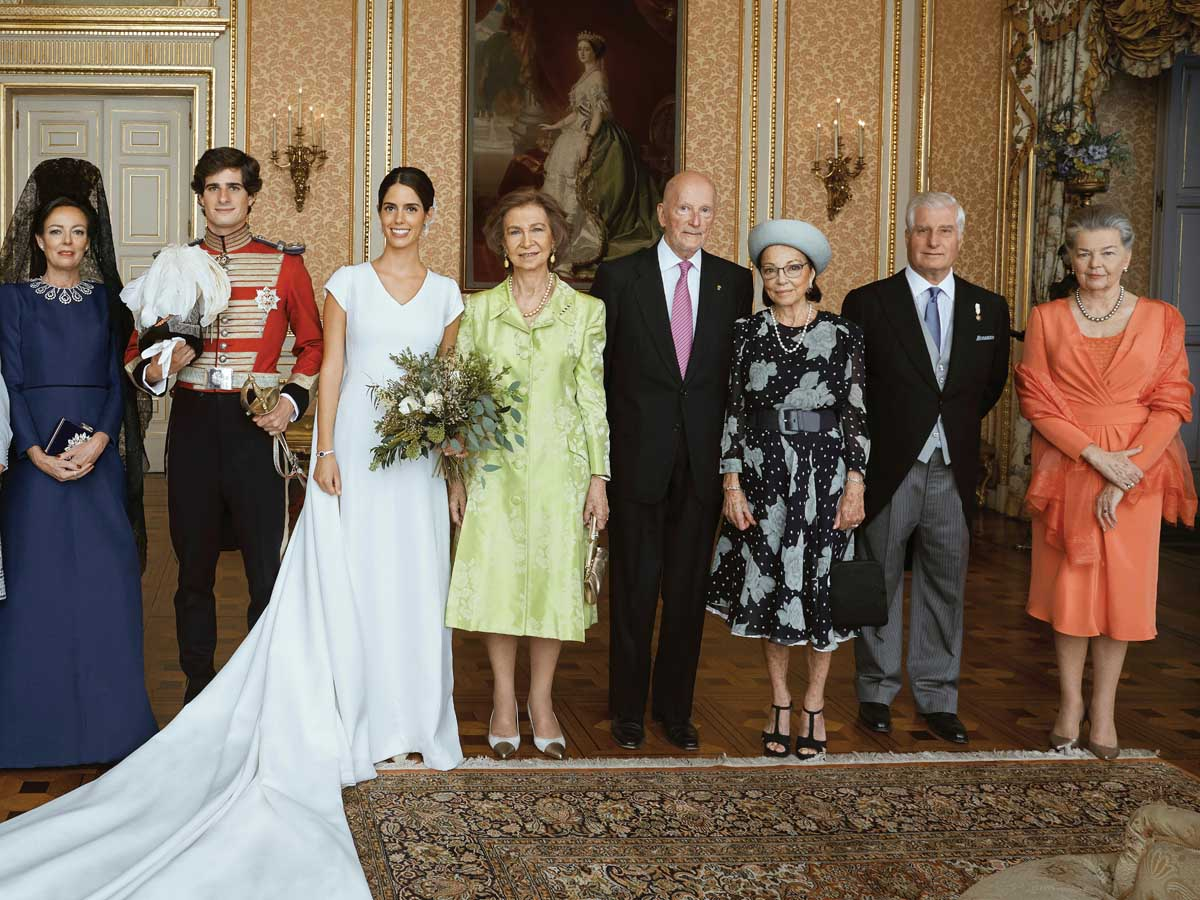 La boda de Fernando Fitz James Stuart y Sofía Palazuelo podría ser el ejemplo que Carlos y Belén Corsini siguieran para planear la suya propia / GTRES