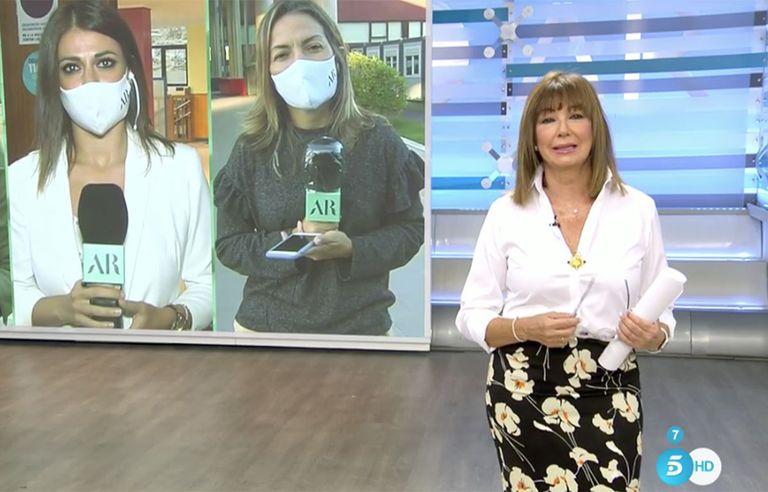 Ana Rosa Quintana ha lucido un nuevo look en su regreso a la televisión tras las vacaciones / Mediaset
