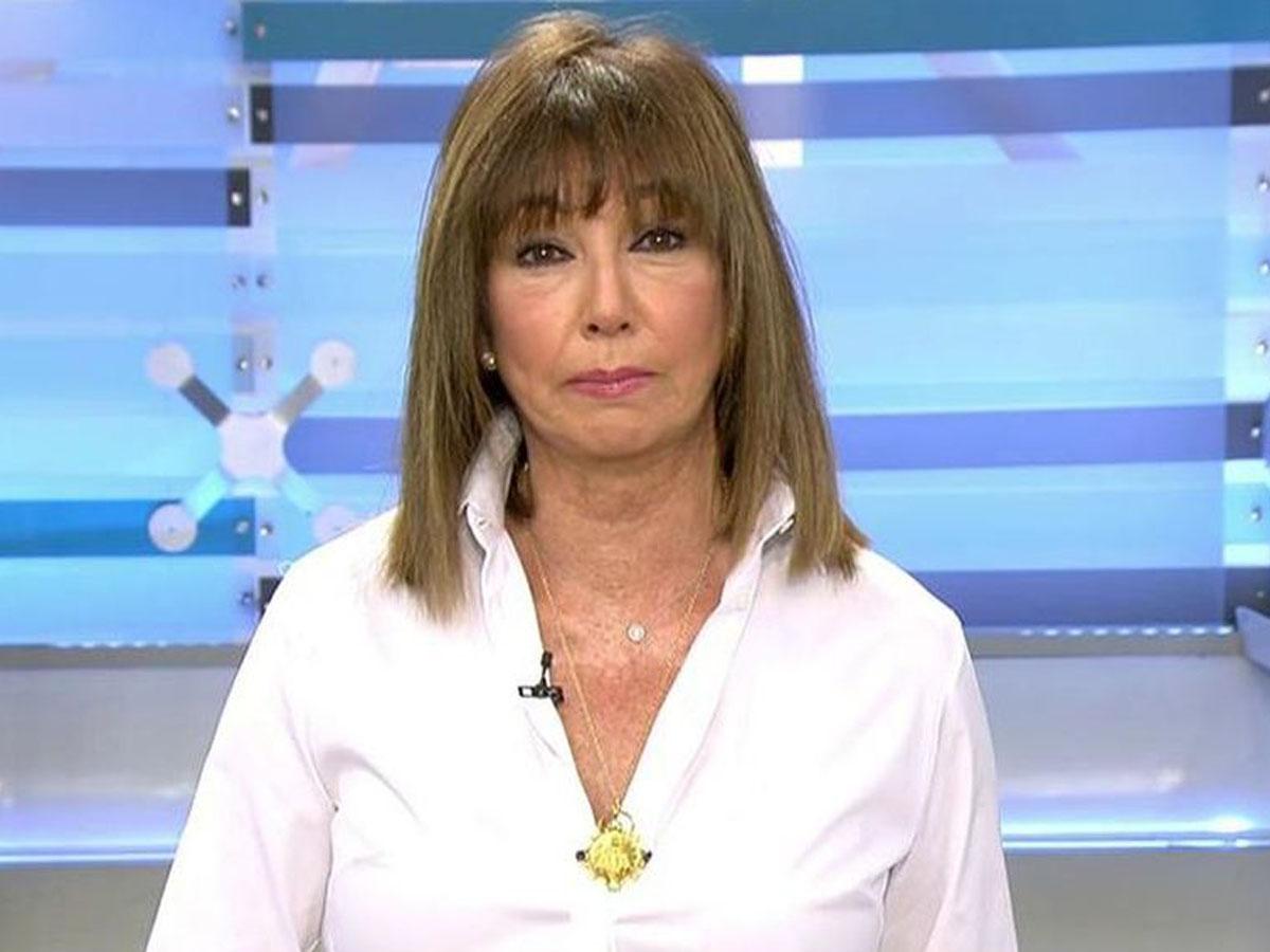 Ana Rosa Quintana se ha incorporado hoy a su programa tras las vacaciones de verano / Mediaset
