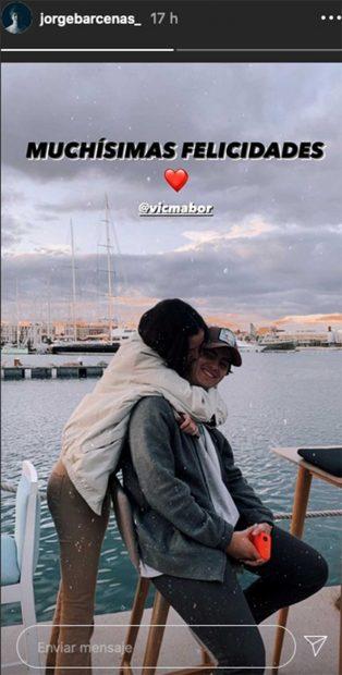Victoria Federica y Jorge Bárcenas en una imagen en Instagram/Instagram Jorge Bárcenas/Instagram Jorge Bárcenas