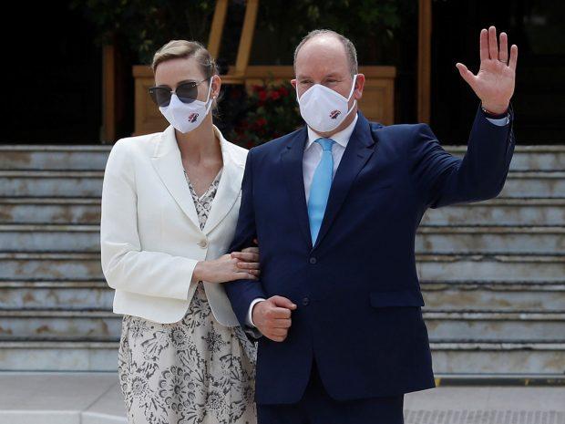 Príncipe Alberto de Mónaco, Princesa Charlene de Mónaco