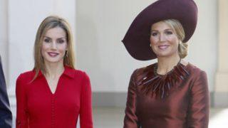 Máxima de Holanda y Doña Letizia en una imagen de archivo / Gtres