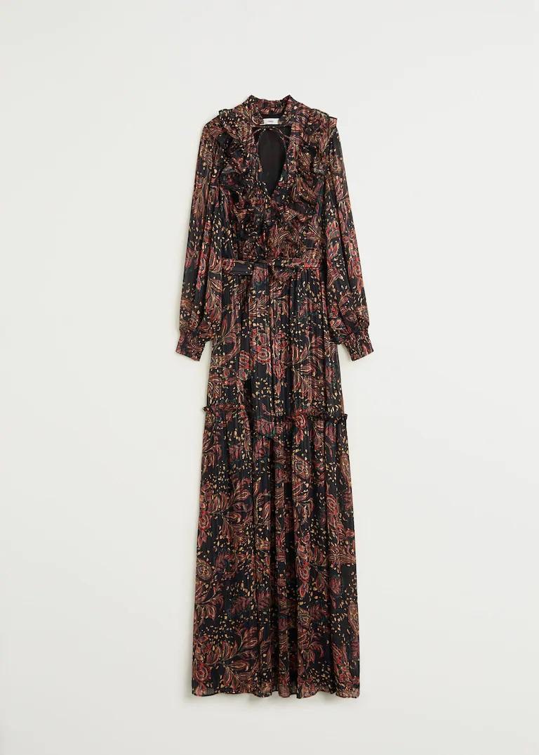 El estampado Paisley triunfa esta temporada, estos son los vestidos midi más favorecedores