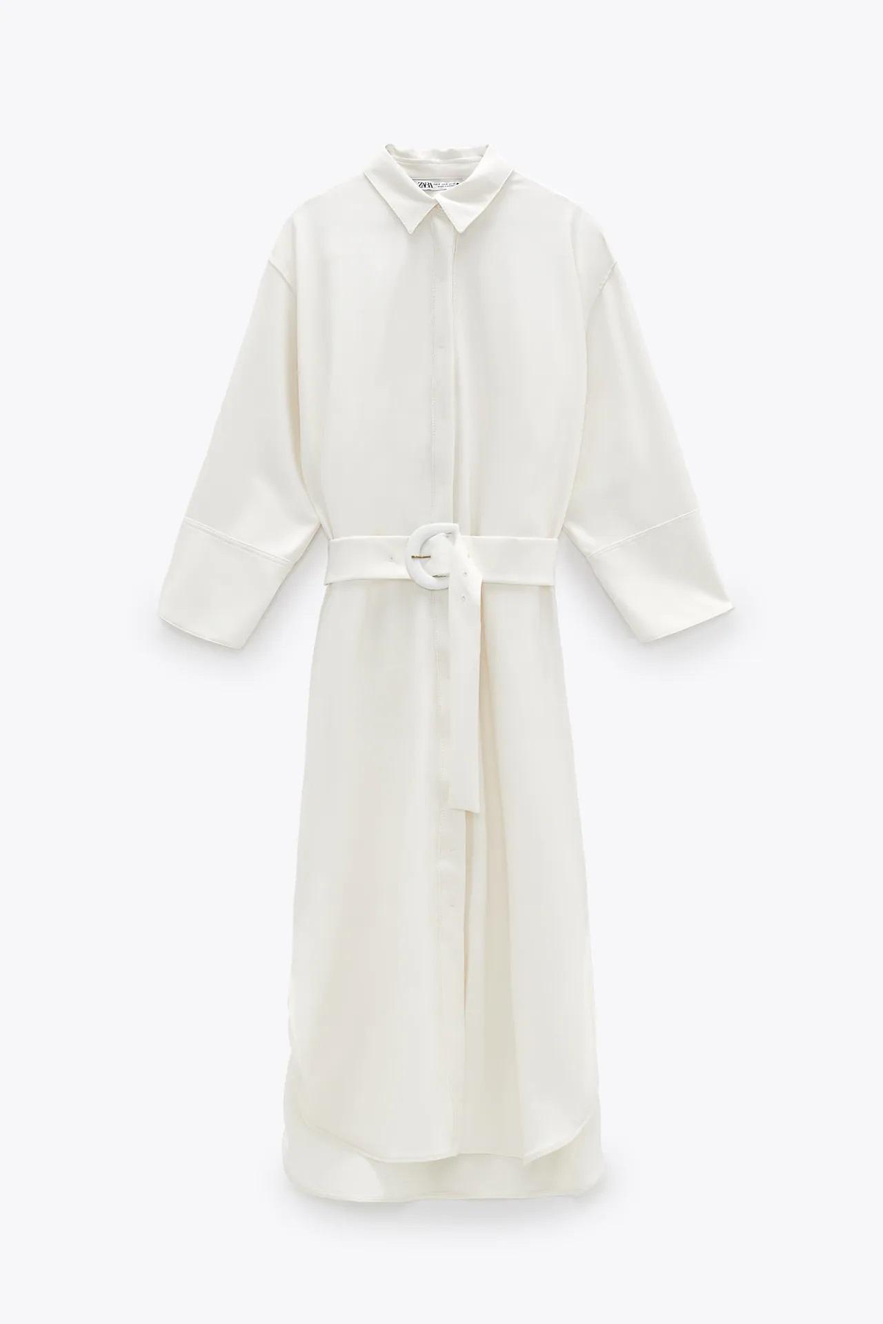 Vicky Martín Berrocal tiene el vestido camisero de Zara ideal para mujeres curvy