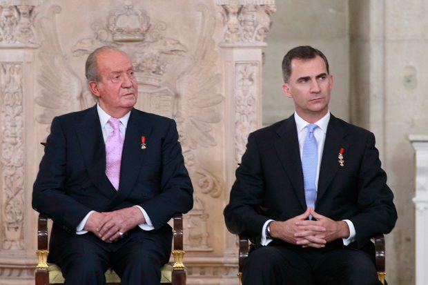 Rey Juan Carlos, Rey Felipe VI