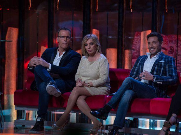 Antonio David Flores, Carlos Lozano y Carmen Borrego