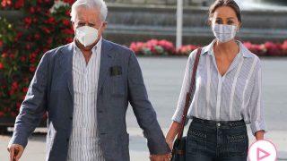 Isabel Preysler y Mario Vargas Llosa acudiendo a la exposición de Botero / GTRES