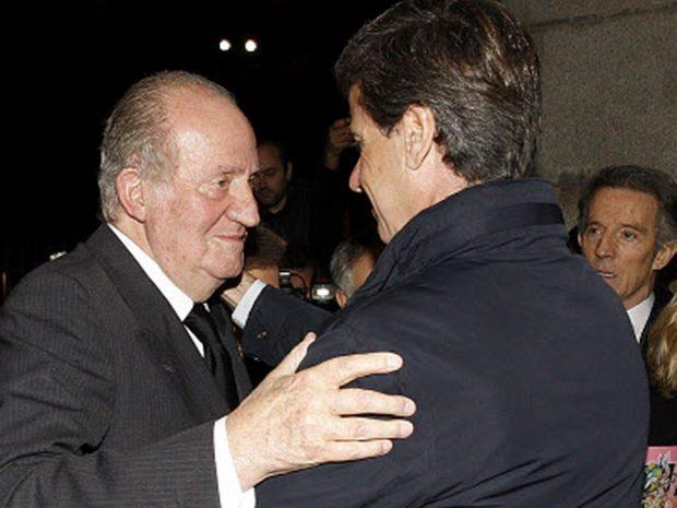 Cayetano Martínez de Irujo, rey Juan Carlos