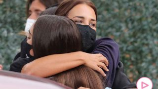 Paula Echevarría se despide de su hija en su primer día de colegio / GTRES