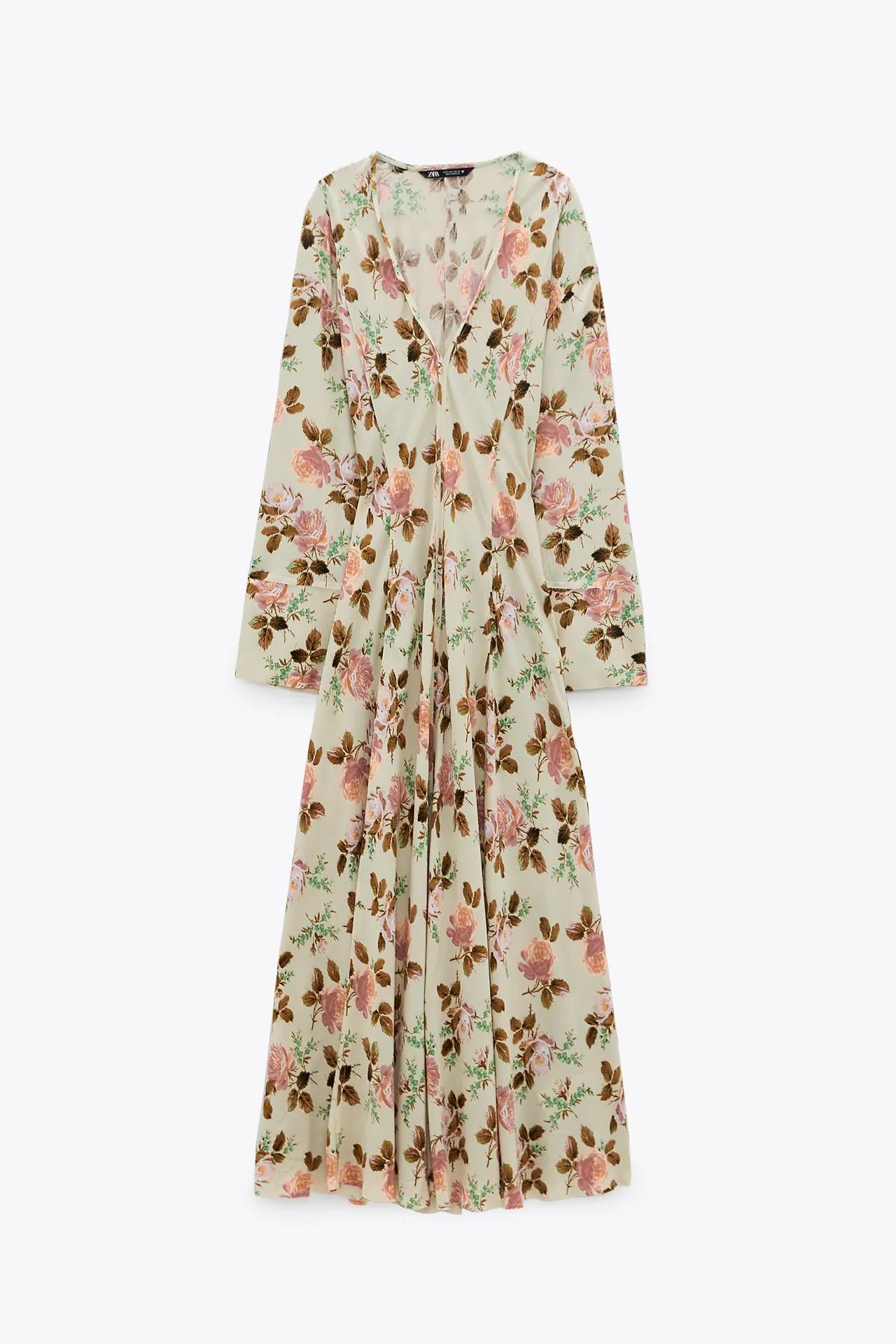 Zara: Mery Turiel lleva el vestido perfecto para dar la bienvenida al otoño con este look