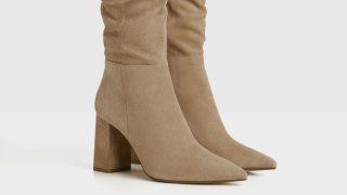Bershka tiene las botas de piel de tacón más baratas y elegantes de esta temporada