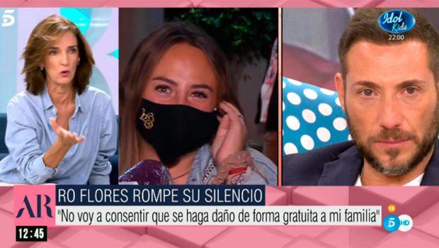 Paloma García-Pelayo, Rocío Flores, Antonio David Flores