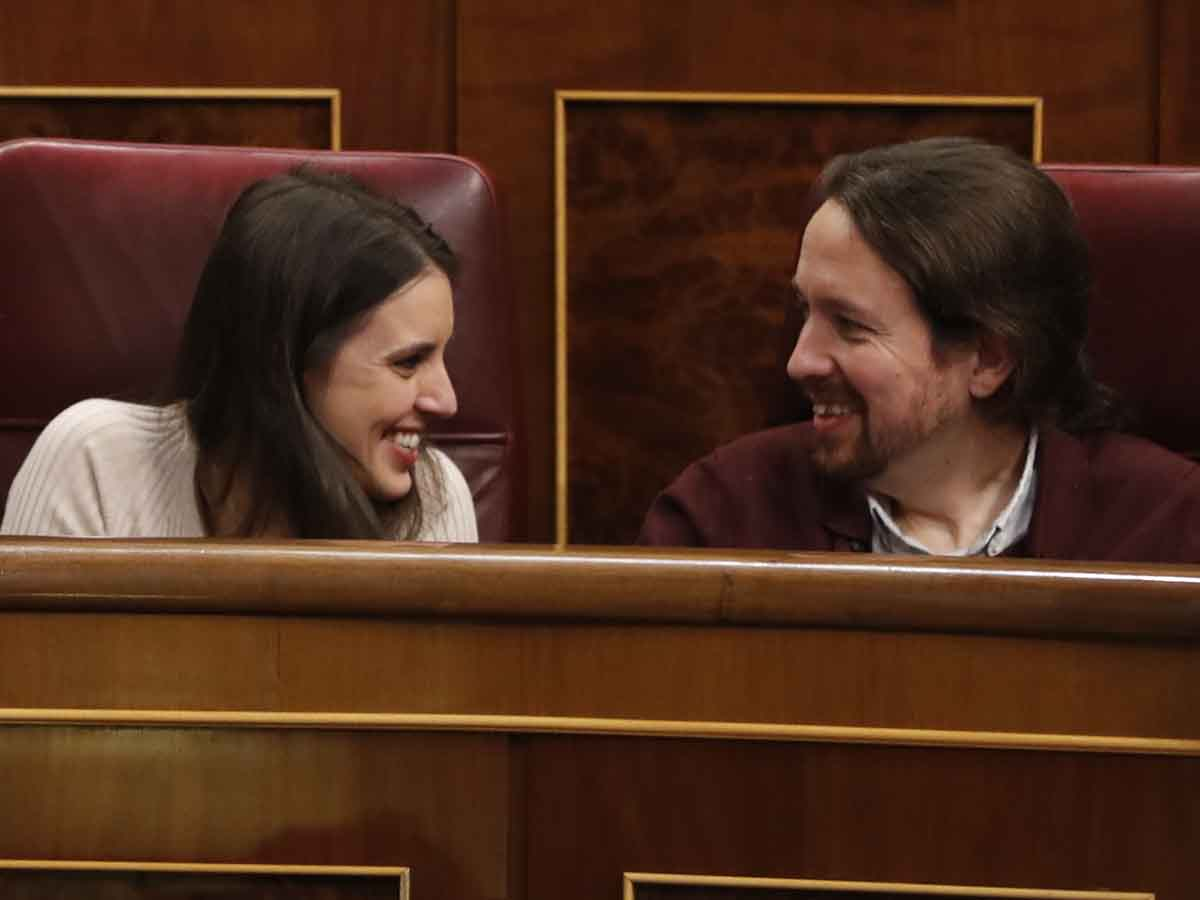 Irene Montero y Pablo Iglesias en una imagen de archivo / GTRES