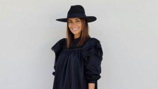 Paula Echevarría triunfa con un vestido negro de Bershka que puedes casi tener