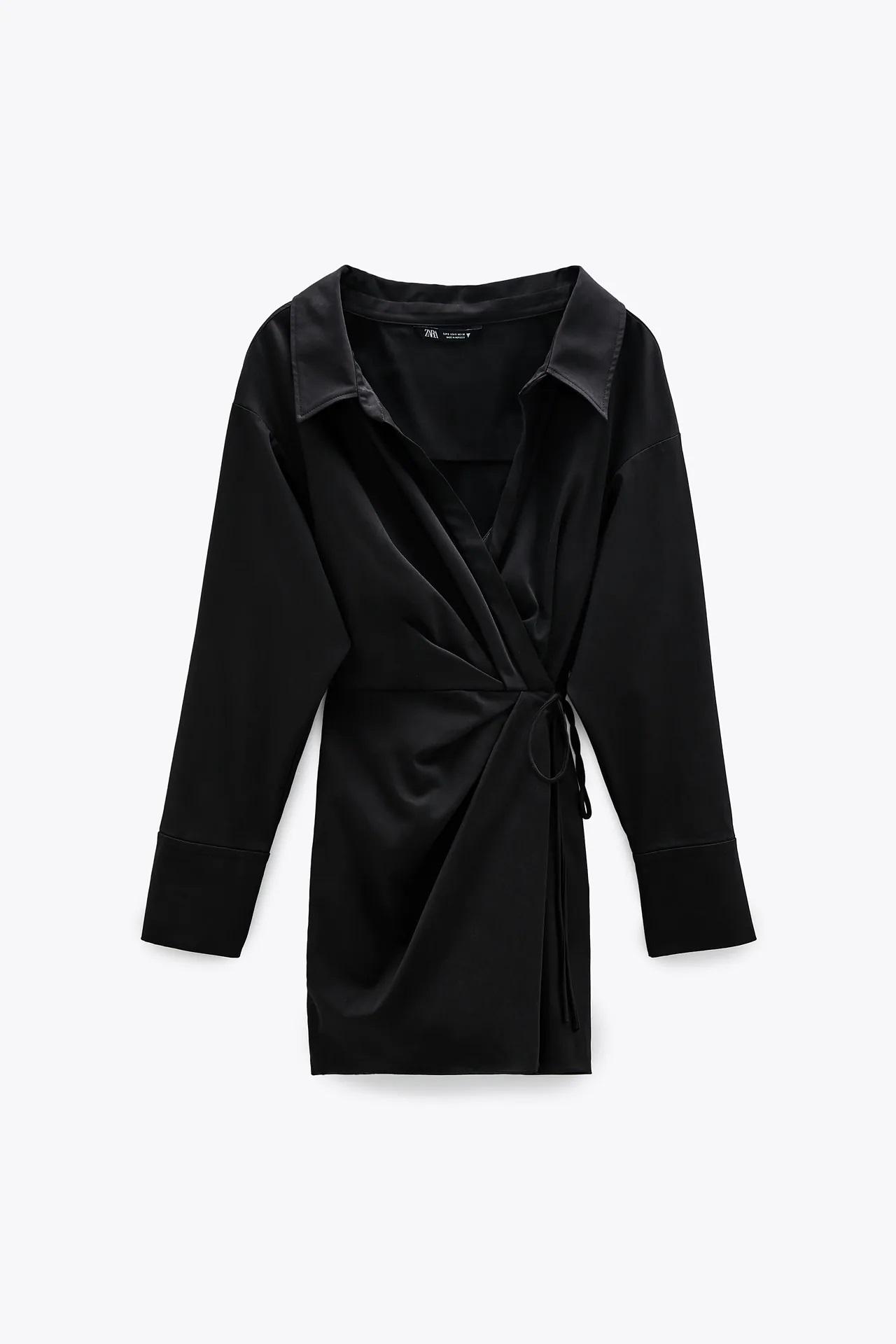 Este es el vestido de Zara que reúne las tendencias del otoño y te solucionará más de un look