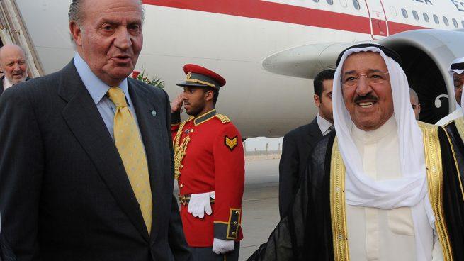 Rey Juan Carlos, Emir Kuwait