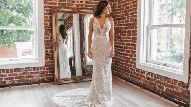 primera prueba del vestido de novia