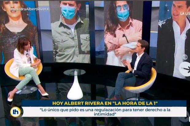 Albert Rivera, Mónica López