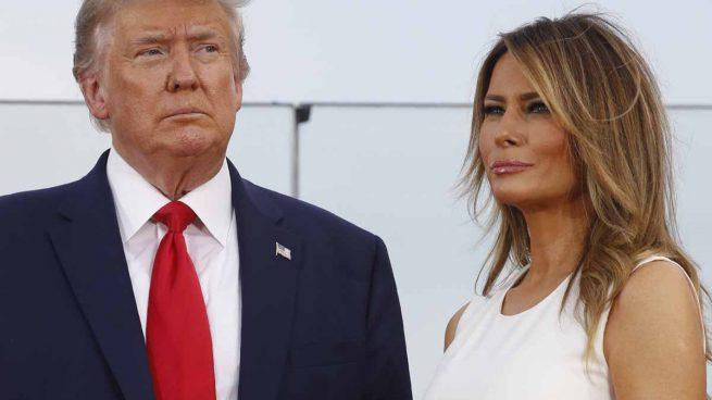 Donald Trump y su mujer, Melania, han dado positivo por COVID-19 / GTRES