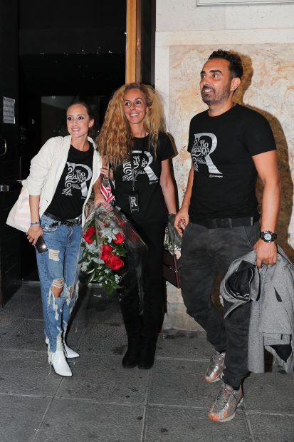 Rocío Carrasco, Fidel Albiac, Anabel Dueñas