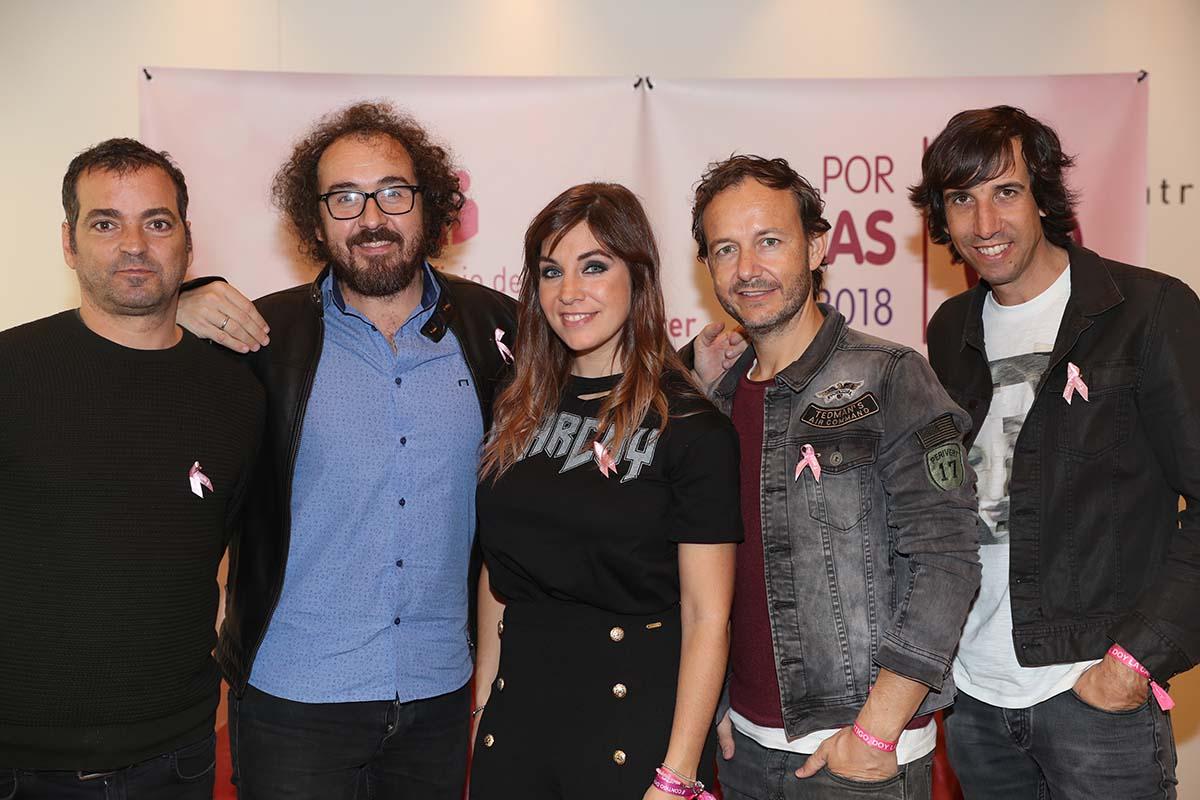 Leire Martínez es la vocalista actual de 'La oreja de Van Gogh' / GTRES