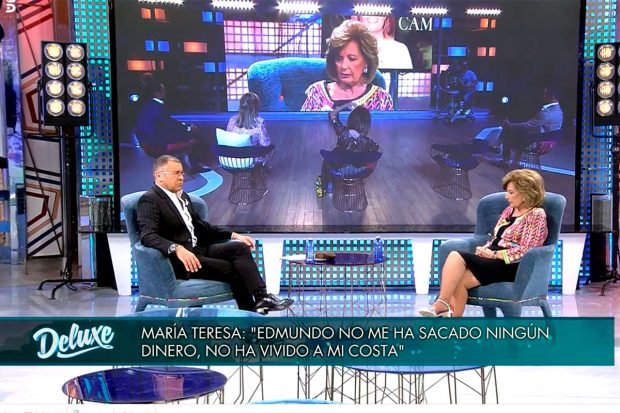 María Teresa Campos, Jorge Javier Vázquez