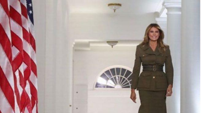 Este es el complemento fetiche de Melania Trump que no puede faltar en sus looks