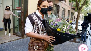 Paula Echevarría ha recibido hoy un bonito ramo de flores / Gtres