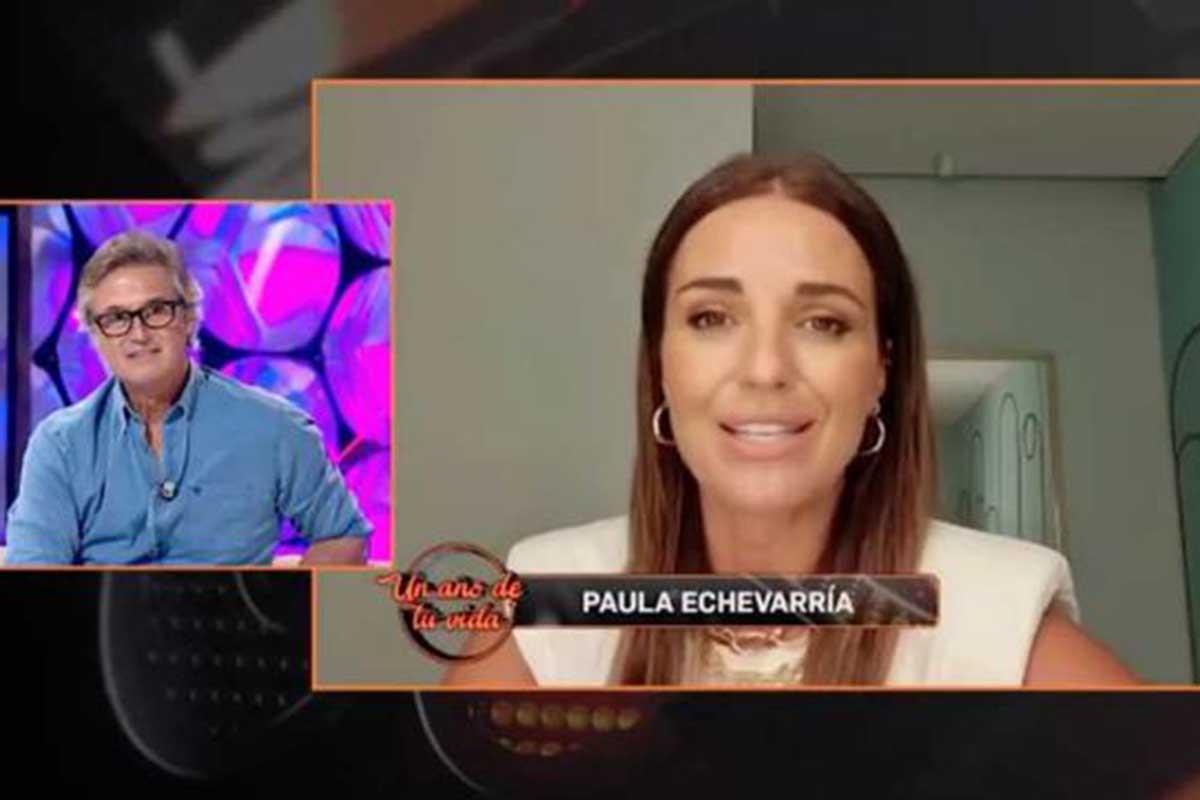 Paula Echevarría participó en 'Un año de tu vida' para hablar de su amistad con Poty Castillo / GTRES