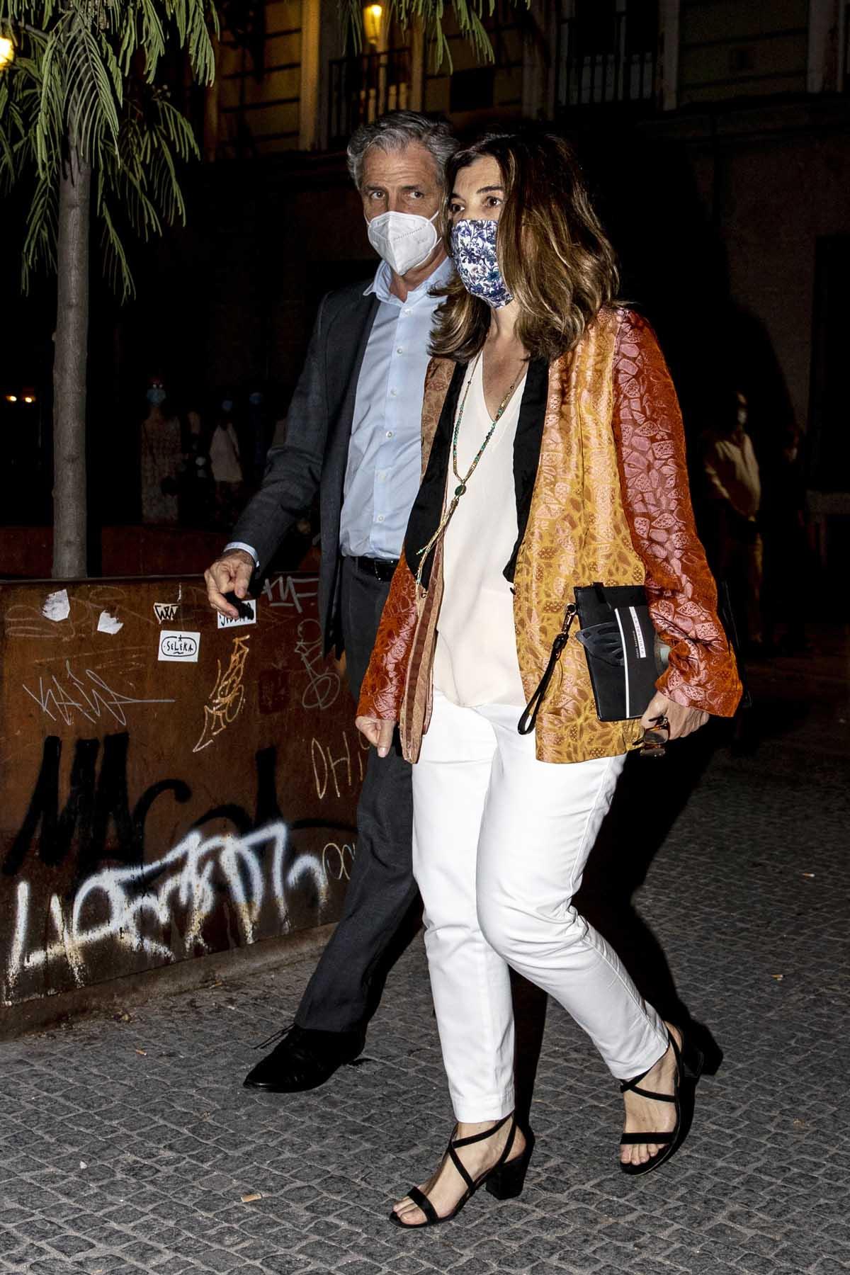 Xandra Falcó y su marido, Jaime Carvajal, en las últimas imágenes públicas de la pareja / GTRES