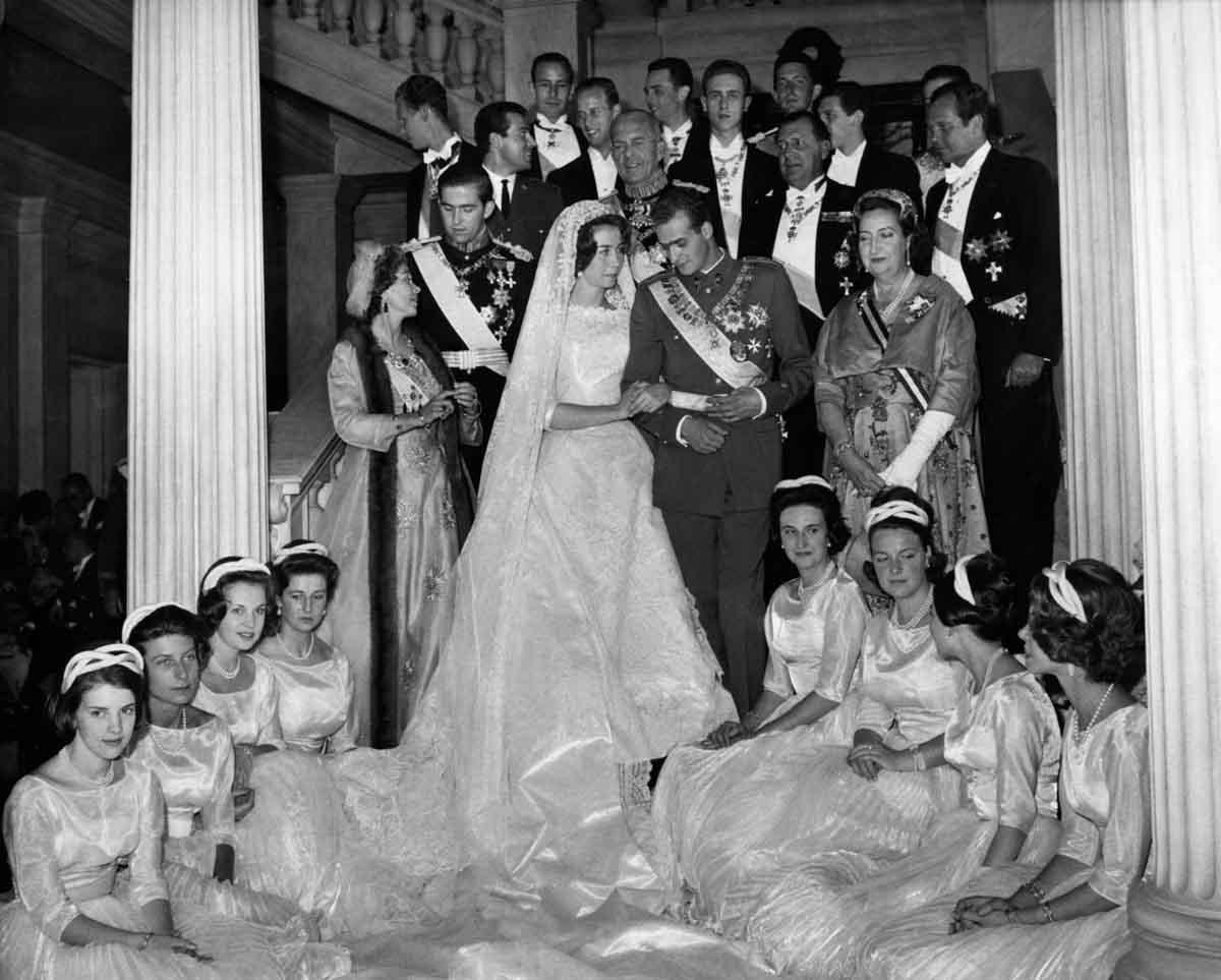Doña Sofía contó a Pilar Urbano que su boda con don Juan Carlos fue solo por amor / GTRES
