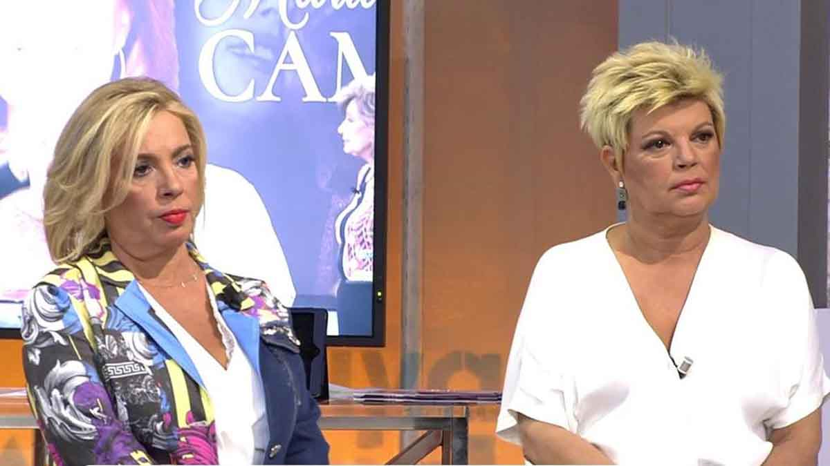 Carmen Borrego y Terelu Campos en 'Viva la vida' / Mediaset