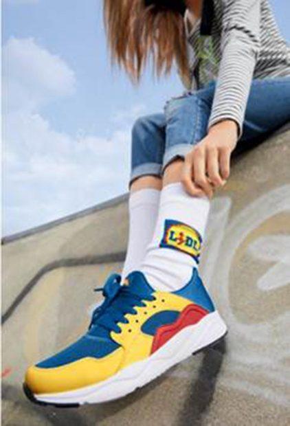 Sneakers de colores de Lidl/Lidl