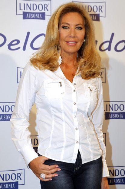 """Norma Duval durante un acto con motivo del """"Día del Cuidador"""" donde hizo un llamamiento al hijo de Carmen Sevilla/Gtres"""