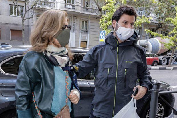 Rosalía Iglesias y Willy Bárcenas