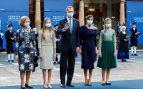 La 'infidelidad' de la Reina y el compromiso de Sofía marcan la edición más atípica de los Premios Princesa de Asturias