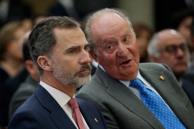 Rey Felipe VI, Rey Juan Carlos