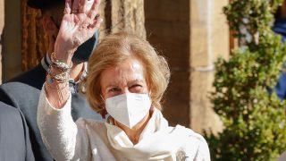 La Reina Sofía responde, por primera vez, a las preguntas sobre don Juan Carlos/Gtres